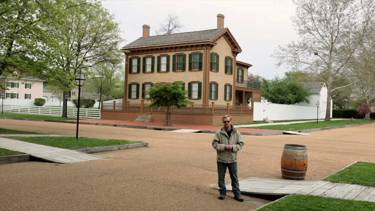 Lincoln Home National Historic Site In Springfield Il