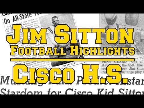 2012-12-25 Jim Sitton Football Highlights - Cisco High School