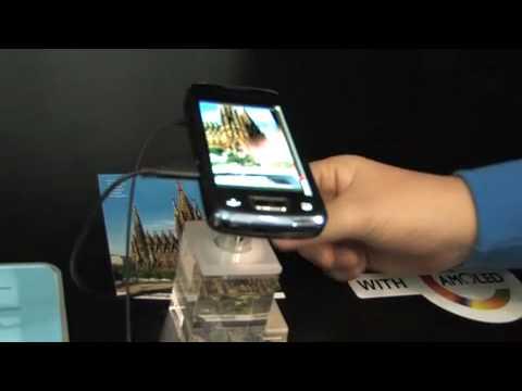 Samsung i8520 Beam - Eindrücke vom Mobile World Congress 2010.mp4
