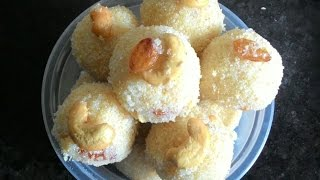 Rava Ladoo Recipe in Telugu || Rava Laddu Recipe || Sooji Ladoo