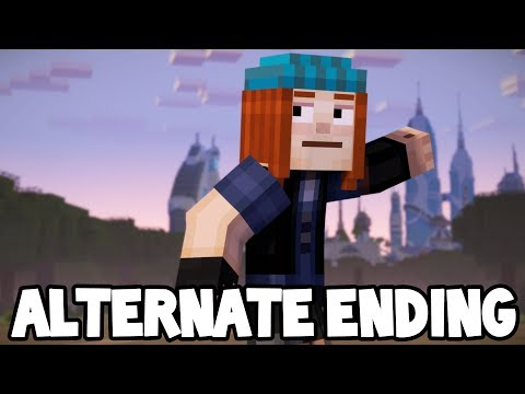 Minecraft Story Mode: Season 2 - Episode 5 - ALTERNATE ENDING! #2