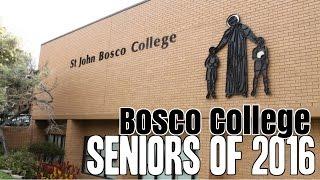 St. John Bosco College Graduation Video 2016