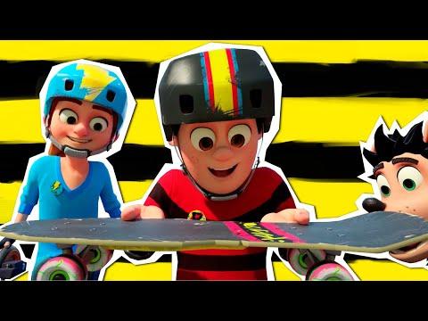 Деннис и Нэшер уходят в отрыв - Герои на рампе - Мультфильмы для подростков