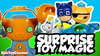 SURPRISE TOYS MAGIC Octonauts Where is Kwazii?  + Disney Cars Toy Surprise & Mickeys Roadster Racers