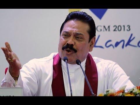 Sri Lanka: president Mahinda Rajapaksa hits out at human rights critics