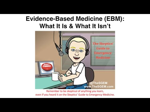 Ken Milne fra TheSGEM Masterclass: Hvad er EBM?