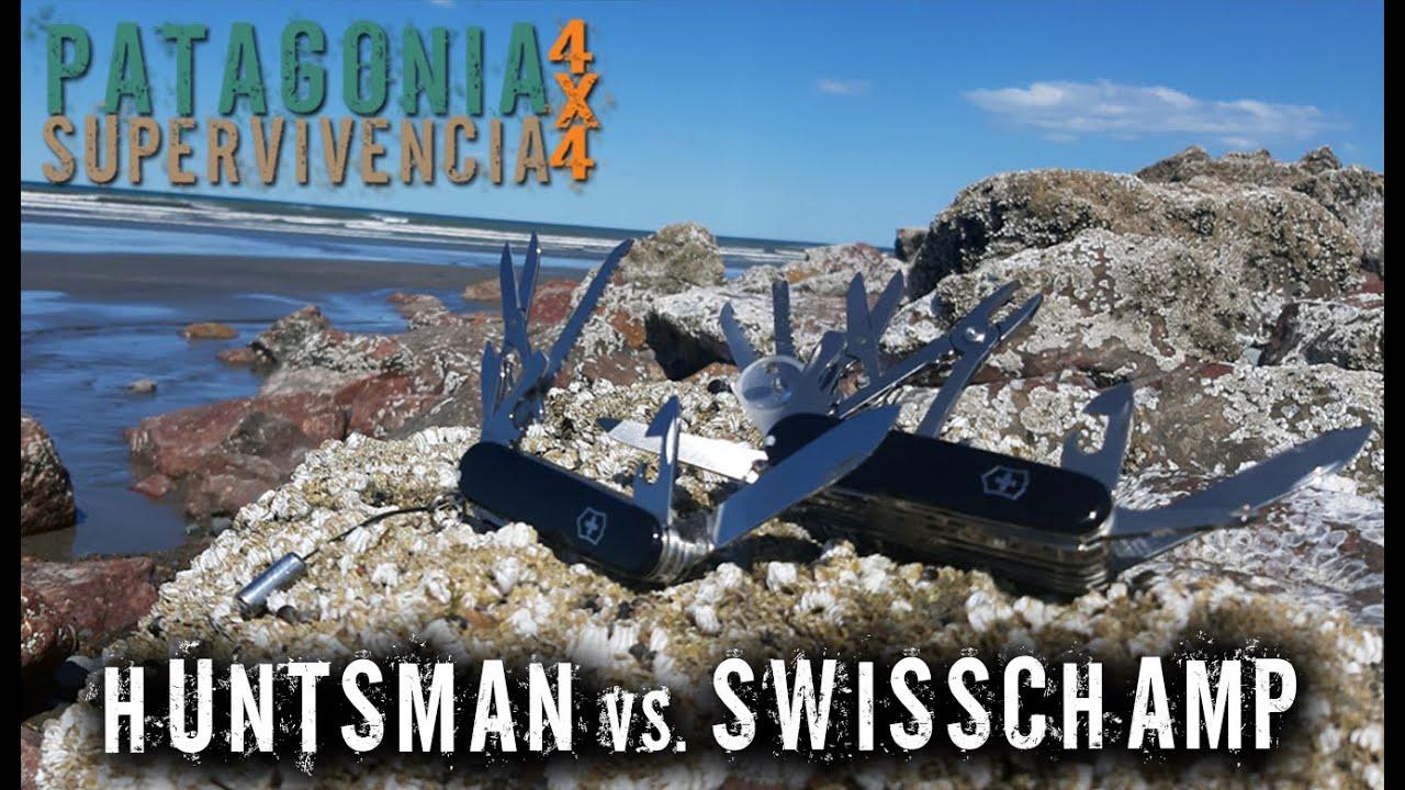 Victorinox Huntsman Vs  Swisschamp