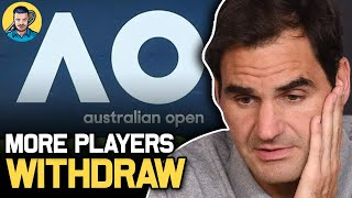 More Players WITHDRAW from Australian Open 2021 | Tennis News