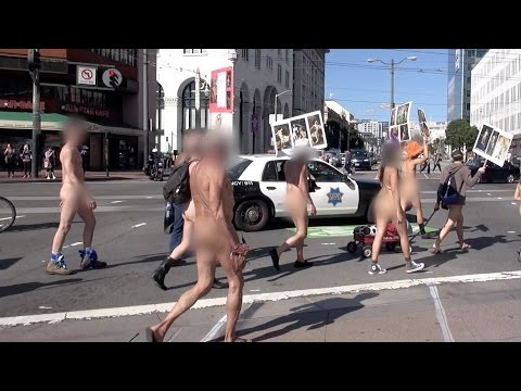 Nude Activist Organizing Valentine s Nude Love Parade In San Francisco from YouTube · Duration:  2 minutes 14 seconds