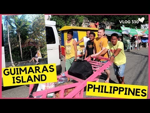 PARADISE in GUIMARAS ISLAND PHILIPPINES with FILIPINO FAMILY