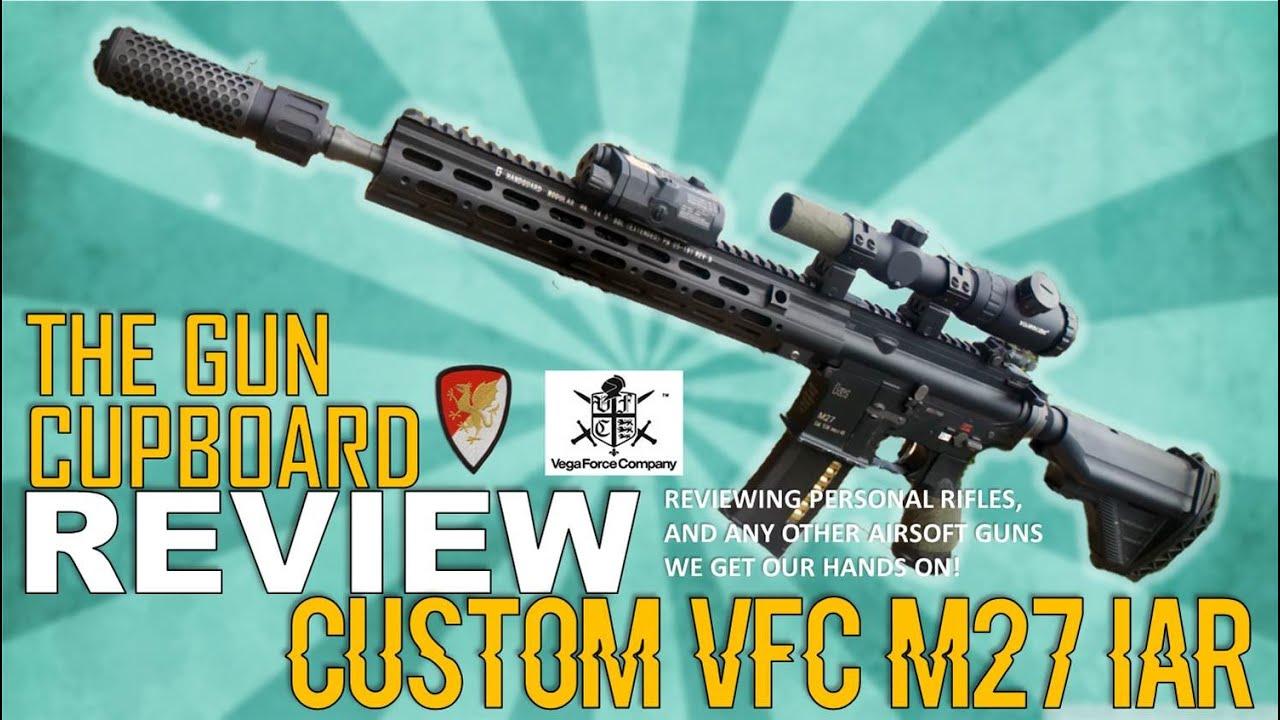 Gun Cupboard: Personal VFC M27 IAR AEG Overview (Dytac/Big  Dragon/Visionking)