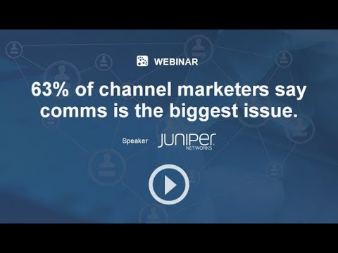 63% of channel marketers say communication is the biggest issue