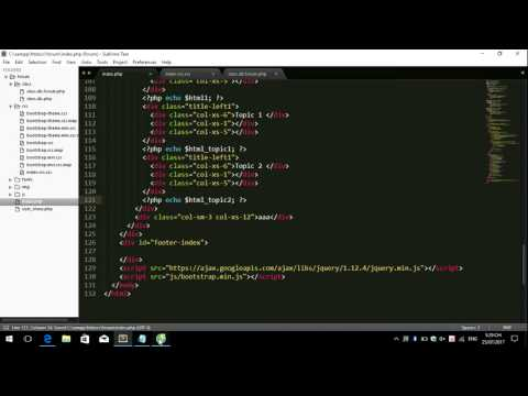 Create Forum Use PHP and Bootstrap Part 20