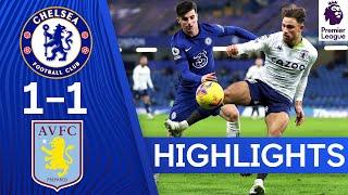 Chelsea 1-1 Aston Villa | Premier League Highlights