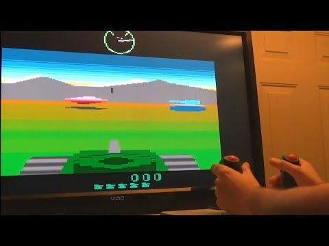 Battlezone (Atari 2600 Port) with Arcade-Style Tank Controls in MAME