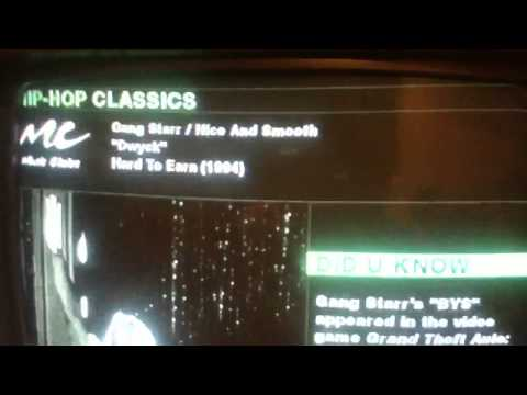 MUSIC CHOICE MISTAKE: INCORRECT SONG INFO (GANG STARR)
