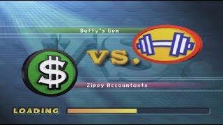 Buffys Gym VS Zippy Accountants Tournament 1st Round - Sammy Sosa Softball Slam Episode 7