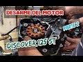Como desarmar el motor de la bajaj discover 125 st   Parte 2