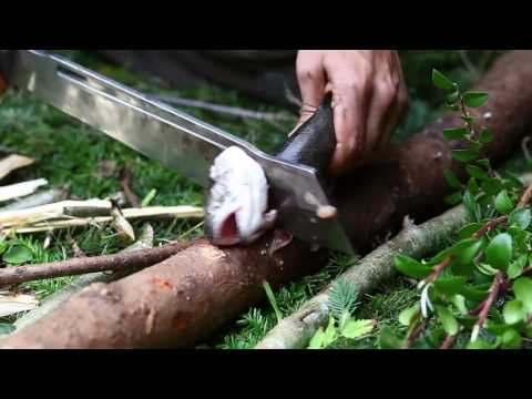 The New DPx Gear HEFT 12 CHOP Survival, Expedition and Camp Knife