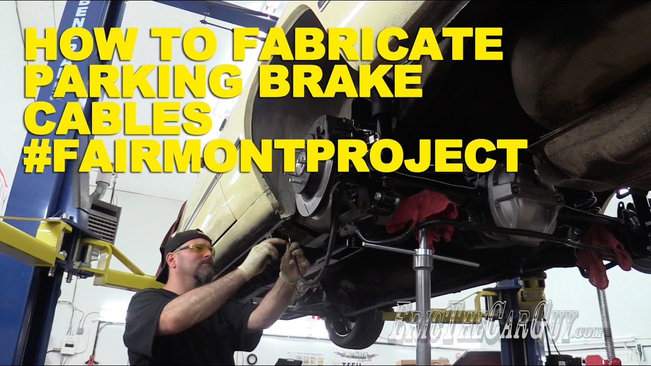 How To Fabricate Parking Brake Cables Fairmontproject Youtube Cj5 Wiring Harness Clips