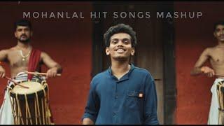 Mashup Tribute For Mohanlal - 13 Songs in 1 - Mohanlal hit songs - Hardcore Mohanlal Fan