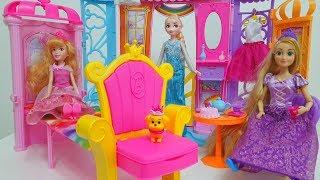 Barbie Rainbow dream castle for Princess dolls Castelo de Reino Arco-íris Kastil untuk boneka Putri