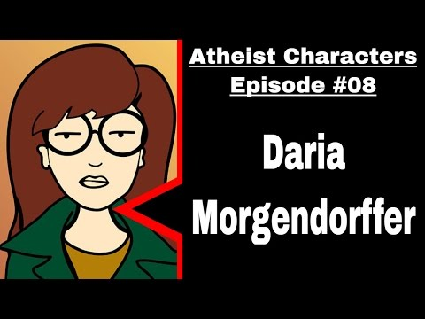 Atheist & Agnostic Characters  Daria Morgendorffer from Daria