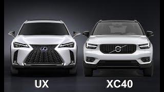 2019 Lexus UX vs 2019 Volvo XC40