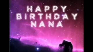 HAPPY BIRTHDAY NANA -----by emperor & zoro