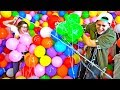 THIS WAS INSANE! (WORLD'S BIGGEST BALLOON FORT WAR!)