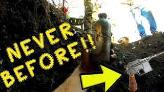 TREASURE HUNTERS SEARCH IN DEEP HOLE FOR AMERICAN HISTORY!! | ANTIQUE BOTTLES