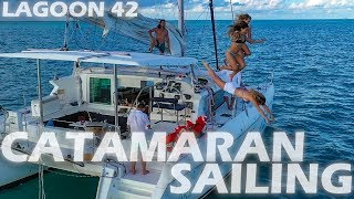 Catamaran Sailing the Florida Keys - Lagoon 42 - S4:E05