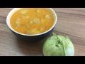 Kohlrabi Curry Using Coconut