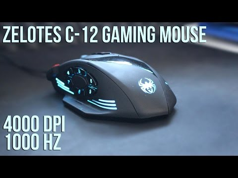 Zelotes C-12 Gaming Mouse Review -  Best in its price range
