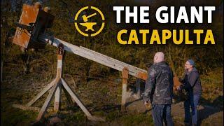Giant Catapulta tour with Jorge Sprave