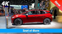 Seat el-Born (VW ID.3 based concept) 2020 - first look in 4K | Interior - Exterior
