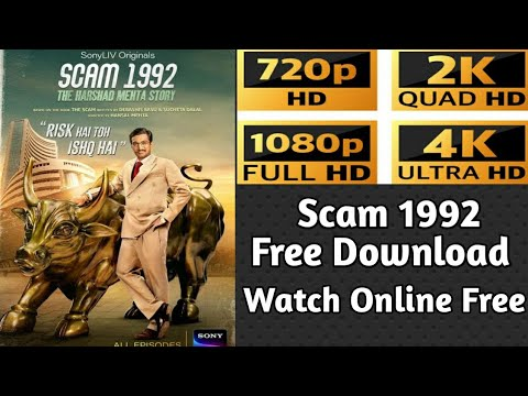 Download How To Download Scam 1992 | Scam 1992 Watch Online Free | How To Download Scam 1992 Web Series