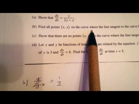 Vote No on : BC Calculus Sample Question 5