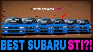 What is the BEST Subaru Impreza STI Generation?