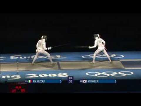 Italy vs Korea - Fencing - Women