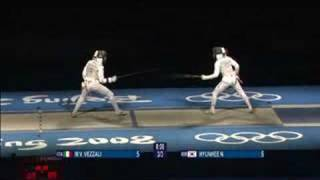 Italy vs Korea - Fencing - Women