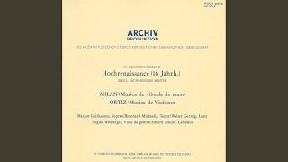 Ortiz: Trattado de glosas - 3 Recercadas sobre tenores Italianos