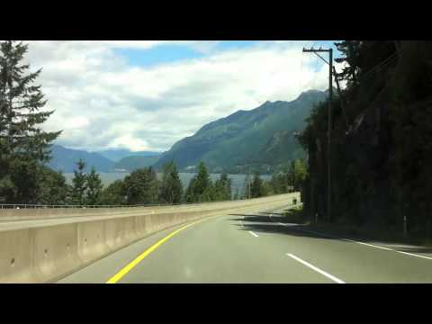 Something Different: Timelapse - Vancouver BC to Whistler BC