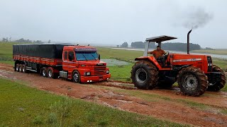 SCANIA 113 NO ATOLEIRO