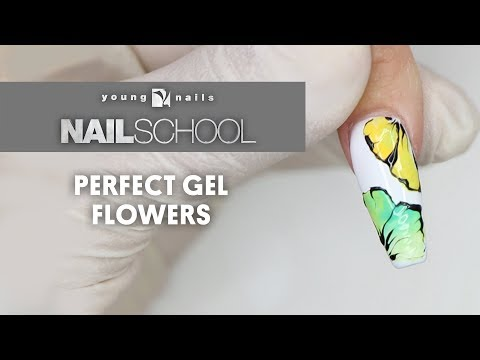 YN NAIL SCHOOL - PERFECT GEL FLOWERS
