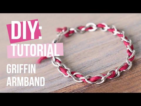 Sieraden maken: Griffin armbanden met jasseron ♡ DIY