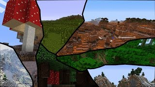 Toate BIOME-URILE DIN MINECRAFT IN TF2!