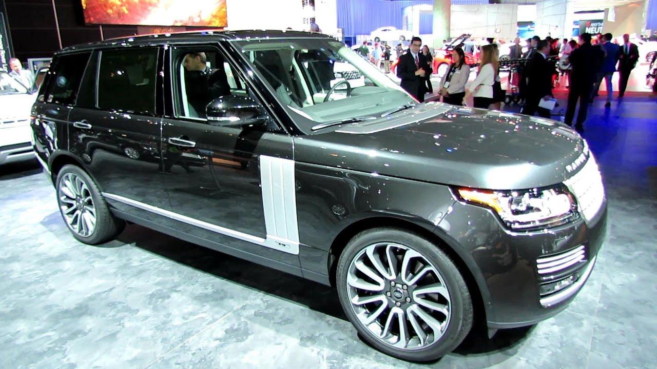 Range Rover Long Wheelbase >> 2014 Range Rover Autobiography Long WheelBase - Exterior, Interior Walkaround - 2013 LA Auto ...