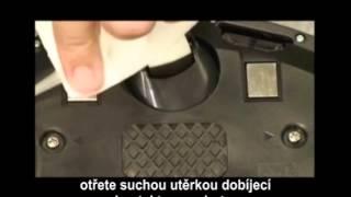 Čištění kontaktů iRobot Roomba série 500 - www.roboticky-vysavac.cz