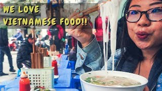 Couples Backpacking // Hanoi Vlog // Our Favourite Foods